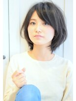 リル ヘアーデザイン(Rire hair design)【Rire-リル銀座-】カットで決まる☆立体感ミディ