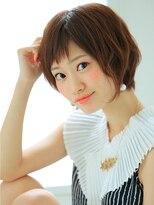 エルメ なんばマルイ(HELME)姫カットSWEET☆クラシカルモードショート☆ミルクティカラー