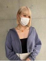 ブロック ジャポン(bloc japon)milk tea blonde/bob