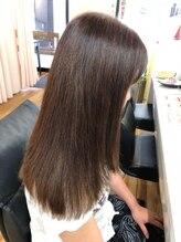 ジジ美容室(JiJi)つや髪カラー