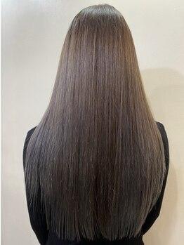 シャルム(charme)の写真/ハイダメージでも効果を実感できるサイエンスアクアで叶う髪質改善!様々な髪のお悩みも解決へ◎