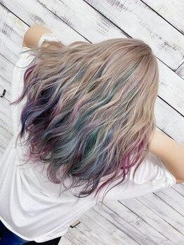 アイスキャンディー(Ice Candy)の写真/流行りの色から、暗めの色、ハイトーンから特殊カラーまでヘアカラーなら何でもお任せください♪