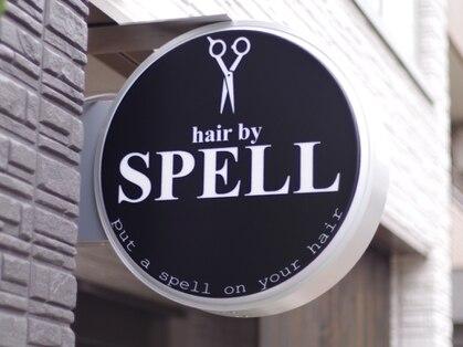 ヘア バイ スペル(hair by SPELL)