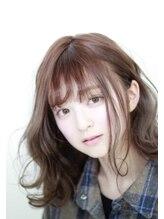 ステラ 嵯峨店(stella)【かわいいの王道!】ウェービーロブ_フォギーベージュ