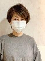 ラトリエコンタン(L´atelier Content)【LatelierContent yumi】少しウルフ風の大人ショート
