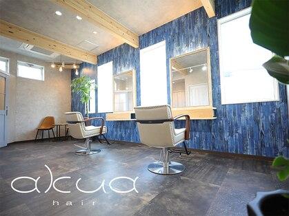 アクア ヘア いわき四ツ倉駅店(akua hair)の写真