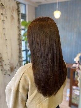 """ニコ(nico)の写真/カラーダメージ特化型""""超低粒子コラーゲントリートメント""""いつまでも美しいカラーヘアの為に☆"""