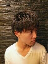 プレミアムバーバー 原宿店(PREMIUM BARBER produce by HIRO GINZA)ツーブロック×小顔見せスタイル