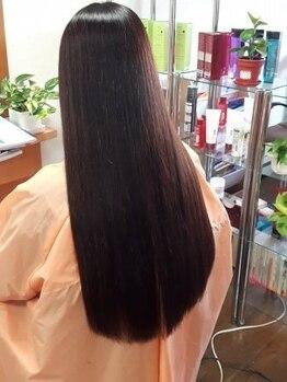 美容室シュガーの写真/【土呂駅より徒歩5分】縮毛矯正でお悩みの方はぜひ一度お越し下さい☆要望に合わせて最適な提案を致します