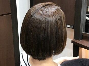 ル アンジュの写真/ル・アンジュだからできる同時施術『カラークセストパー』★ダメージを最小限におさえて理想のツヤ髪に♪