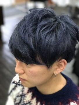 ヘアーアンドメイク アネラガーデン(HAIR&MAKE Anela garden)ブルーアッシュ