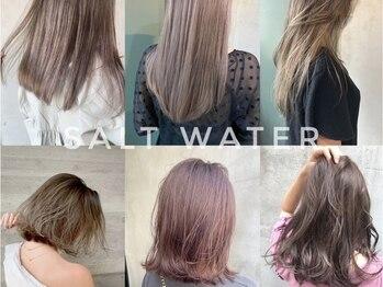 ソルトウォーター(SALT WATER)の写真/外国人風をオトナSTYLEに落とし込む☆女性ならではの『柔らかさ』『ヌケ感』『色っぽさ』を演出するカラー