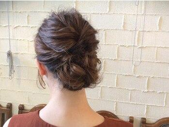 ヘアメイク アプト モカレーベル(HAIR MAKE apt mocalabel)の写真/可愛い&崩れないは当たり前♪プロが服装やシーン、好みに合わせてご提案!ショートやボブの方にも大人気☆