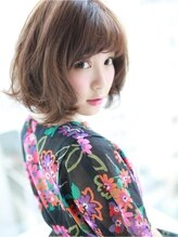 アグ ヘアー ベリー たまプラーザ店(Agu hair berry by alice)☆無造作ミディ☆