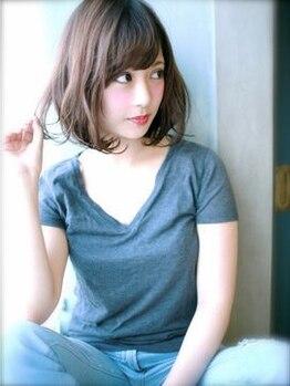 ブルーム 千葉ニュータウン(bloom)の写真/最強のモテ髪サロン《bloom》長持ち×ダメージレスで話題の低温デジタルパーマでふんわり可愛く女子力UP♪