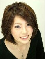 ジェンテ ヘアサプライ(GENTE hair&supply)女子力UPボブ