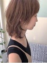 マテカ ヘアー(mateca hair)【mateca】ナチュラルウルフ×ベージュブラウン
