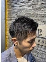 ヒロギンザバーバーショップ 新宿店(HIRO GINZA BARBER SHOP)アップバングビジネススタイル
