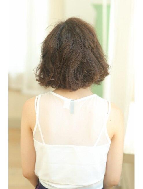 メリーランド 自由が丘(MerryLand)人気の前髪なしカジュアルボブ