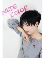 『 NUDE COLOR 』ナチュラルショート