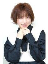 ヘアーメイク リアン 新田辺店(Hair Make REAN)◆REAN 京田辺/新田辺◆外ハネショートボブスタイル