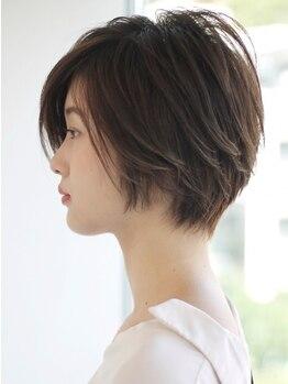 ディオ 麻布鳥居坂店(Dio)の写真/扱いやすさ抜群のDioのカット技術。細かな要望をくみ取り、いつだって綺麗を保つまとまる髪に仕上げます。