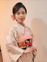 横濱ハイカラ美容院(haikara美容院)振袖着付けとヘアセット