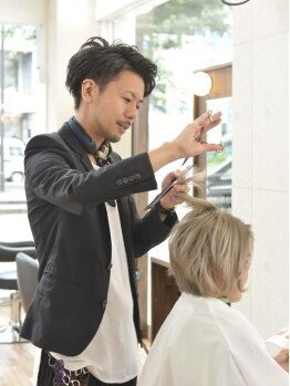 ミューズ 西友小手指店(Muse)の写真/メンズカットが得意なスタイリスト多数在籍!メンズも通いやすい雰囲気のアットホームなサロン♪
