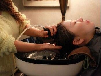 ミュープールマシェル(MIEUX POUR MA CHERE)の写真/次世代の頭皮髪質改善ヘッドケアシステムで、他店では得られない、お客様が持つ髪本来の姿に-。