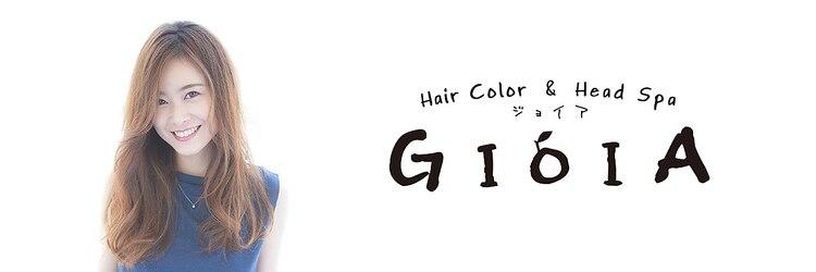 ヘアカラーアンドヘッドスパ ジョイア(HairColor HeadSpa GIOIA)のサロンヘッダー