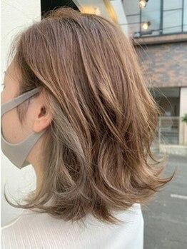 ロッシュ ヘアーデザイン(Roche Hair Design)の写真/雰囲気や髪質に合わせてぴったりのカラーをご提案◎ただ染めるだけじゃない、理想のイメージを叶えてくれる