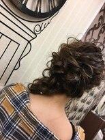 ヘアセットサロン アトリエ チャイ(Hair set salon atelier CHAI)サイド編みおろし
