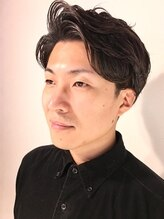 タイコーカン(TAIKOKAN Men's Hair Salon)ビジネスでもカジュアルでも☆大人パーマスタイル