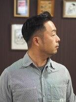 フランクサイドバーン(Frank Sideburns)【barber】フェード・ハードパート