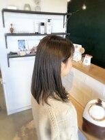 アミィヘアー(Ami Hair)オリージュカラー×ナチュラルストレート