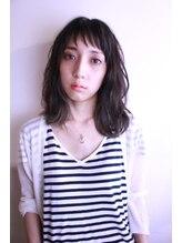 ヘアーデザイン ユーケー(Hair design Yu K)take it easy ~簡単無造作なミディアムスタイル~