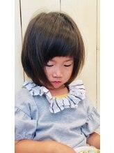 アイル ヘアー(Aile Hair)【Aile Hair】フェアリーキッズボブ★厚めバング★