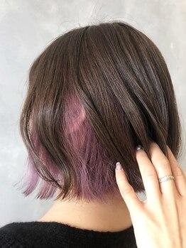 エスケープ トゥ ボナ(ESCAPE to bona.)の写真/大注目のカラーをお得に体験♪透き通った憧れの外国人風の髪が手に入ります☆美しい輝きのある仕上がりに♪