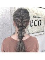 ヘアアンドメイク デコ(Hair&Make Deco)ルーズにアップ