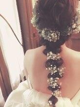 ヘアメイクアンドセットサロン リッコ(Hair make&set salon Ricco)梅田セットサロンRicco>結婚式二次会ヘアアレンジ