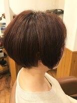 テトラ ヘアー(TETRA hair)2ブロックマッシュボブ