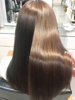 キャラ シャローネ 池袋(Chara Chalone)の写真/[池袋駅歩30秒]【資生堂9stepサロンソリューショントリートメント¥13200】縮毛矯正でまとまる髪に♪