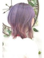 ヘアーサロン エール 原宿(hair salon ailes)(ailes 原宿)style359 デザインカラー☆モーブグレージュ