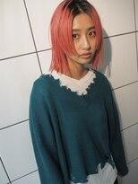 シャチュー(SHACHU)【MORIYOSHI】ダブルバランスカット×フラミンゴカラー