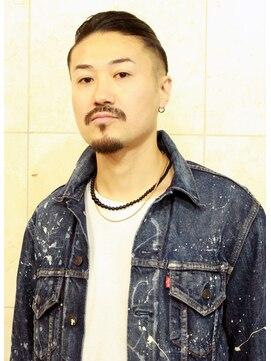 ヘアーサロン タカヒロ(Hair Salon TAKAHIRO)【HairSalonTAKAHIRO】 マンバンmen'sスタイル