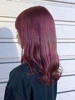 ルッツ(Lutz. hair design)チェリーレッド