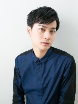 ソーエン ヤクイン 福岡8号店(soen yakuin)の写真/【カット¥2400/当日予約OK!!】髪が伸びても決まる、計算されたデザイン力は圧巻。男性人気も高い【soen】