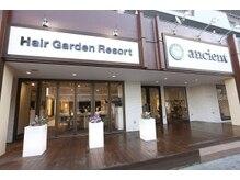 ヘアーガーデンリゾート アンシエント(Hair Garden Resort ancient)の雰囲気(コロナ対策でビニールカーテン、常時換気、消毒徹底してます!)
