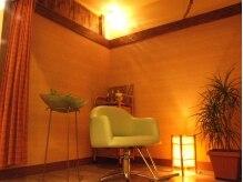 ベリューサ 円山裏参道店(Belleza)の雰囲気(頭皮ケアマッサージのクリームバスは、個室でゆったりと…)