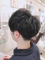 リリー ヘアーデザイン(Lilly hair design)【勝田台Lilly昼間】爽やかマッシュショート